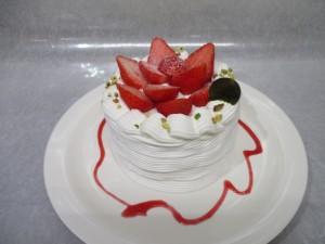 ショートケーキかき氷