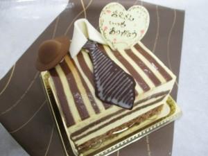 父のケーキ
