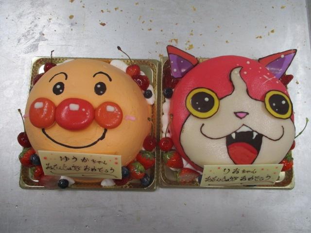 ついでに最近のキャラクターケーキ画像でっす(^_,),☆|スイーツガーデンコパン