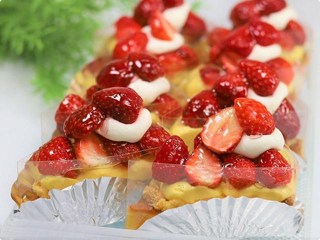 完熟苺のタルト